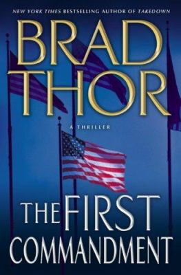 The first commandment : a thriller Book cover