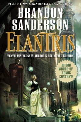 Elantris. Book cover