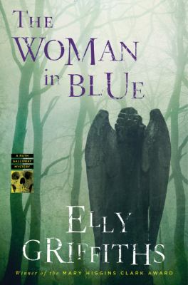 The woman in blue Book cover
