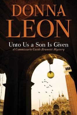 Unto us a son is given Book cover