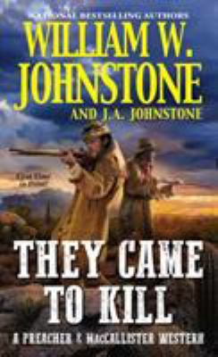 They came to kill Book cover