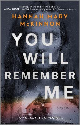 You will remember me : a novel Book cover